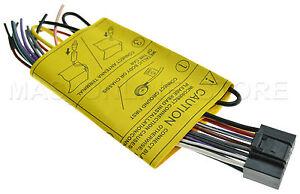 jvc kd s28 kds28 kd s38 kds38 genuine wire harness pay today image is loading jvc kd s28 kds28 kd s38 kds38 genuine