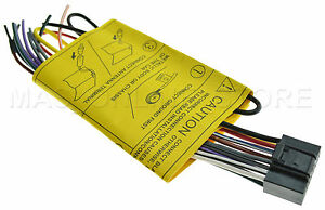 jvc kd s28 kds28 kd s38 kds38 genuine wire harness pay today ships rh ebay com JVC Head Unit Wiring Diagram JVC KD S26 Wiring Harness