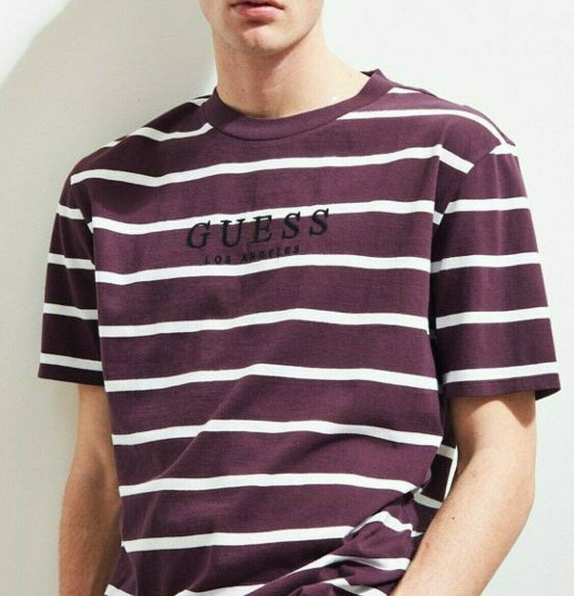 Guess - Los Angeles Original Stripe Oversized T-shirt