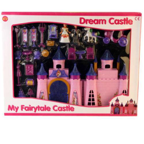 24 PEZZI NUOVO Principessa La mia Favola Bambina Sogni Castle Play set accessori