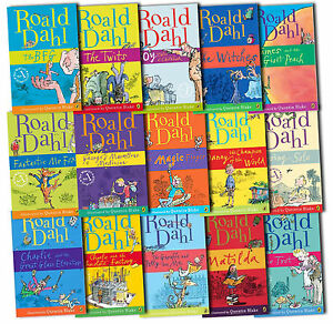 Image result for books of roald dahl