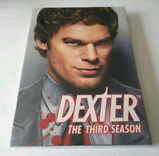 "Dexter - The Complete Third Season (DVD, 2009) *SHOWTIME SERIES*  ""NEW"""