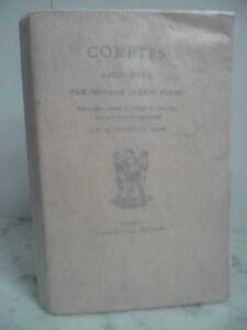Rarità Libro N°23/100 Conti Amanti Jeanne Flora Casa Gay 1870