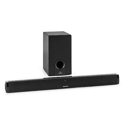 Barra de Sonido Subwoofer 2.1 Reproductor Bluetooth Sistema Audio -B-STOCK