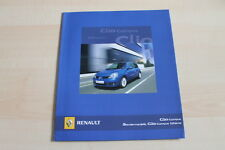 98314) Renault Clio B Campus Prospekt 03/2008