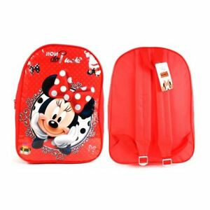 38d4190de0 Caricamento dell'immagine in corso Grande-Disney-Minnie-Mouse-Arco-Zaino- Bambini-Zaino-