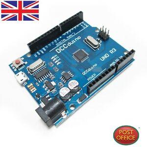 Uno-R3-Atmega-328P-16AU-CH340G-Micro-USB-compatible-con-Arduino-Sin-Cable