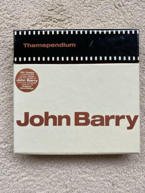 JOHN BARRY - THEMEPENDIUM - 4CD BOX SET - SONY BMG 2007