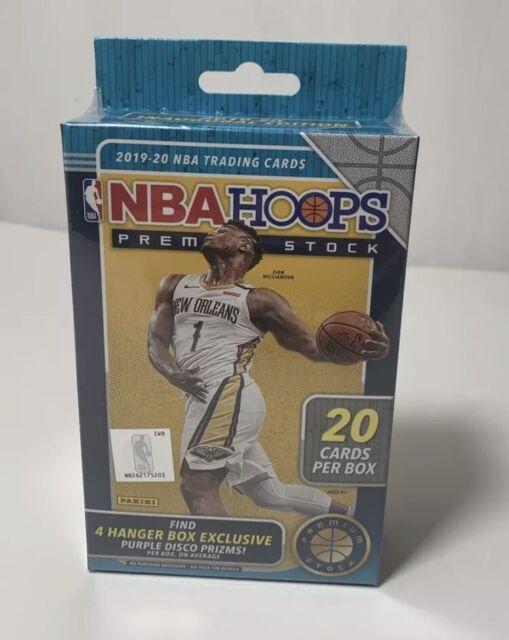 🏀 2019 2020 Panini NBA Hoops Premium Hanger Box Basketball RC's   🏀
