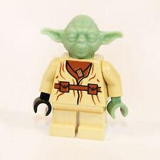 Lego Star Wars Figur Yoda Tan Legs Sand Green Hands sw051 7103 7260 4502 WS367