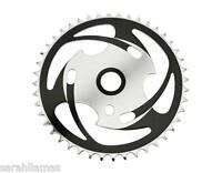 Sprocket Js77 44t 1/2 X 1/8 Chrome Black, Cruiser Chopper Bmx Kid Bikes 137642