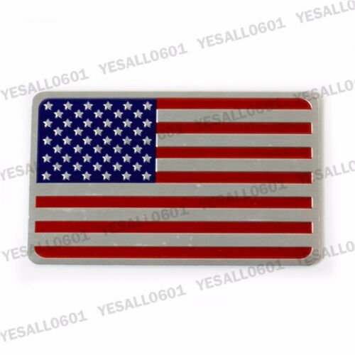3D Metal Badge Sticker Car Motors Emblem Decal Flag For US UK Germany Italy
