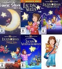 LAURAS STAR completare Parte 1 2 3 4 5 6 + Film STELLA NATALE Nian DVD Edizione