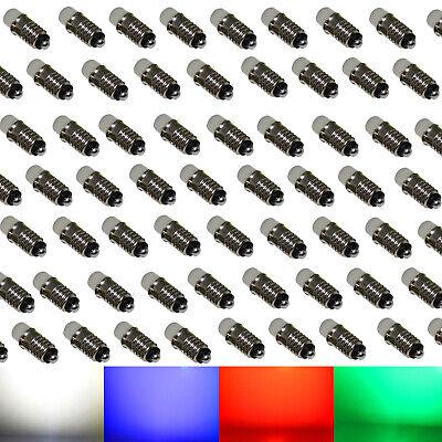 Temperato 100x 12v Led Ms4/e5, 5 Per Märklin Lampade A Incandescenza Modellismo A Freddo Bianco Rosso Blu Verde-mostra Il Titolo Originale Tecniche Moderne