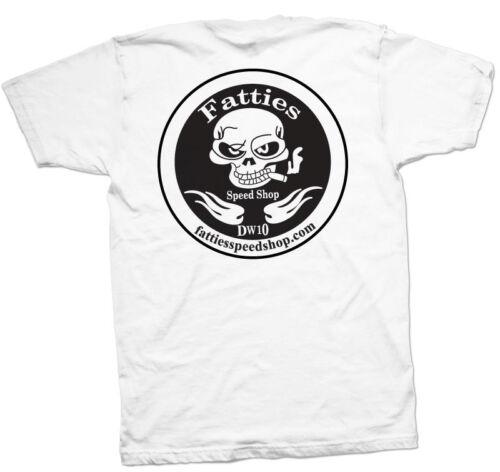 original Design,FREE SHIPPING Fatties Speed Shop Tee shirt perfect for STURGIS