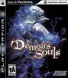 Demon-039-s-Souls-Sony-PlayStation-3-2009-No-Booklet