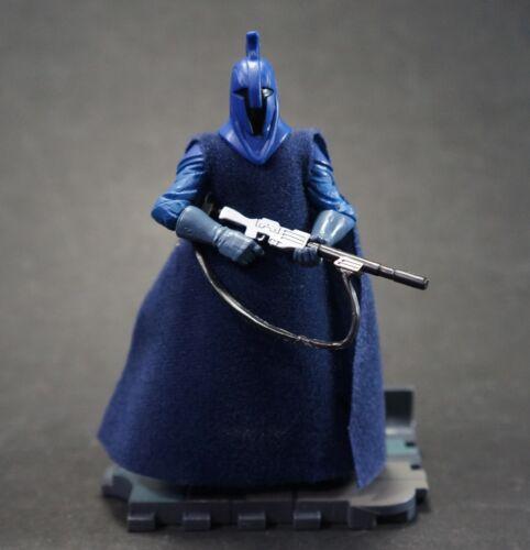 Star Wars Episode 3 E III ROTS Royal Guard Blue Action Figure # 23