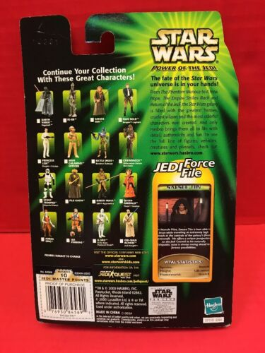 Star Wars Power Of The Jedi Saesee Tiin Hasbro 2000