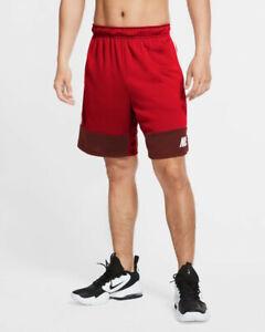 Nike Pantaloncini Shorts k dry short 5.0 mc Uomo Rosso 2020 con tasche