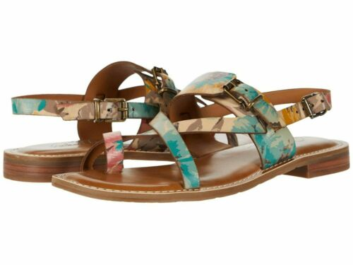 Patricia Nash Women Fidella First Bloom Split Round Toe Casual Slide Sandals 10M