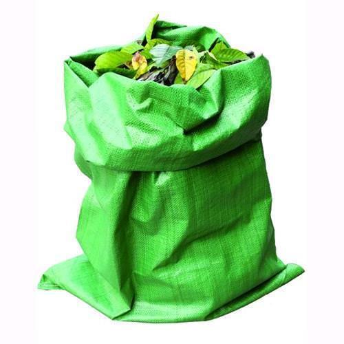 Sacco Raccoglierba Vigor in pp 80 gr mq Color verde 60x100 Cm conf. 50 pz