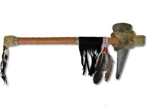 Tomahawk Bueffelhorn 50cm  Wurfaxt Wurfbeil Indianer