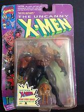 Marvel Comics 1993 The Uncanny X-men Tusk Action Figure on Card