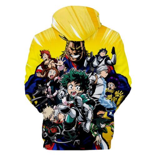 My Hero Academia One/'s Justice Izuku Deku Bakugou All Might Hoodies Sweats Tops
