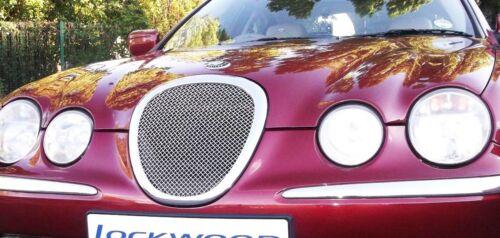 Jaguar S Tipo Rejilla de Malla de Acero Inoxidable Parrilla De Tejido insertar 1999-2002