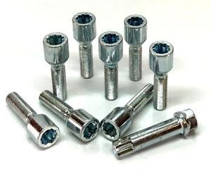 Pernos-de-sintonizador-de-Rueda-Coche-M12-X-1-5-llave-Ampliado-Rosca-35mm-Bmw-Serie-3-X-8
