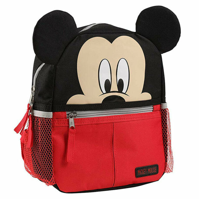 dc6c03e99c5 Disney Baby Mickey Mouse Mini Backpack with Safety Harness Straps for  Toddlers