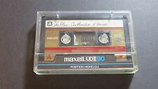 Vintage MAXELL UD2 C90 Type II Cassette tape / Collectable!