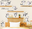 Cute-Cat-Vinyl-Home-Room-Decor-Art-Wall-Decal-Sticker-Bedroom-Removable-Mural thumbnail 3