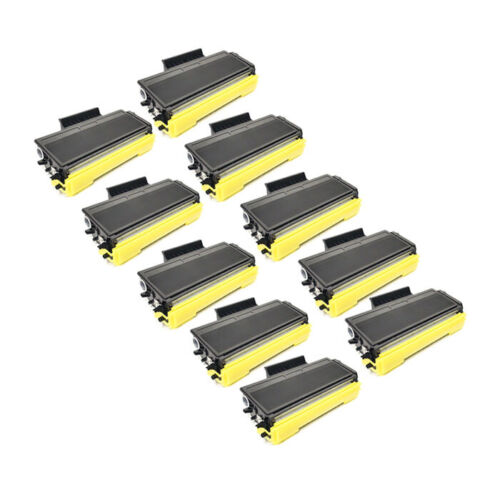 10 Pack BLACK Toner For Brother TN580 TN650 MFC-8460N MFC-8860DN MFC-8870DW