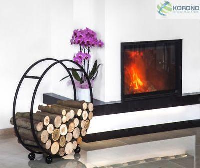 Korono chimenea de madera estante para brennholzgestell madera puesta chimenea soporte de madera Handmade