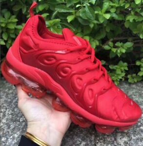brand new 52ee5 12126 Details about Men's Nike Air VaporMax Tn Plus Size 7-11 Red
