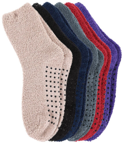 Adult Men/'s Women/'s Thick Warm Indoor Anti-skid Winter Slipper Socks