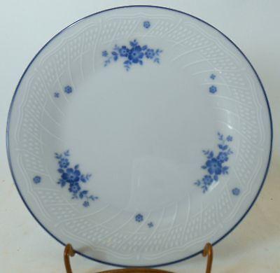 "NORITAKE china #1379 pattern BLUE FLOWERS /& TRIM Bread /& Butter Plate @ 6-3//8/"""