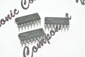3pcs-NEC-CD4017BC-x2-CD4017C-x1-DIP-16-Integrated-Circuit-IC-NOS