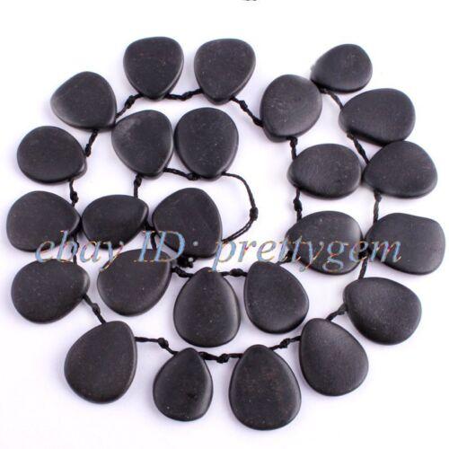 "12x15-13x16mm Drop Quartz,Jade,Agate Gemstone Stone Beads Spacer Strand 15/"""