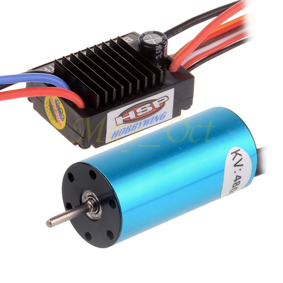 HSP 1 16 4800KV 2040SL Brushless Motor 25A WaterProof  BRUSHED ESC BLESC-S16E  vendita outlet