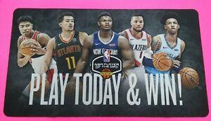 2019/2020 NBA PANINI PLAYER OF THE DAY MAT ZION WILLIAMSON JA MORANT ROOKIE YEAR