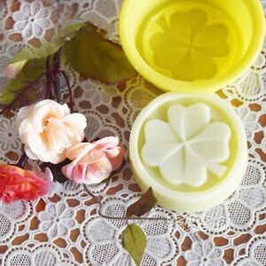 ef610a8a2543 Image is loading Handmade-Silicone-Soap-Mould-Four-Leaf-Clover-Cake-