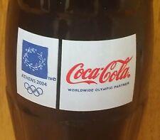 COCA-COLA ~ 2004 ~ ATHENS ~ OLYMPICS ~ 8 OZ. BOTTLE ~ CANADA PARTNER ~ 5,000 LTD