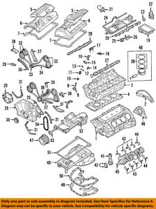 bmw oem 02-05 745li-engine cylinder head gasket ... 03 bmw x5 engine diagram