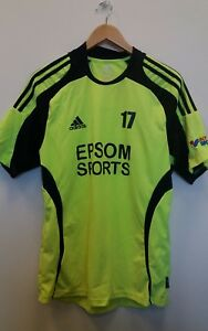 Impartial Adidas Yellow Sports Top Size M Football 17 <j7739 Structural Disabilities Activewear Tops