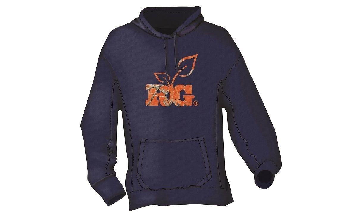 Realtree Girl Ladies bluee bluee bluee orange Camo Hoodie - Hooded Sweatshirt 6af6c4