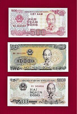 Vietnam 2000 Dong 1988 P107 @ Crisp UNC World Paper Money