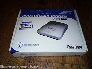 BINATONE ADSL 500 MODEM DRIVERS FOR WINDOWS MAC