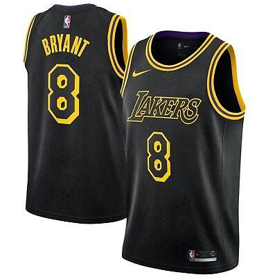 Brand New Nike NBA Los Angeles Lakers Kobe Bryant 8 City Edition ...